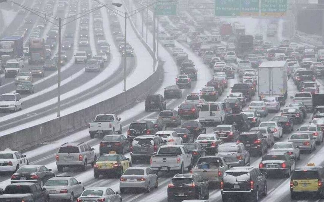 Atlanta's Snow Problem: Mayor Kasim Reed and Other Public Employees